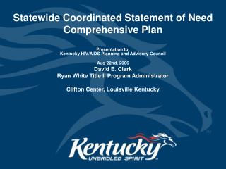 HRSA Program Guidance   Statewide Coordinated Statement of Need Comprehensive Plan