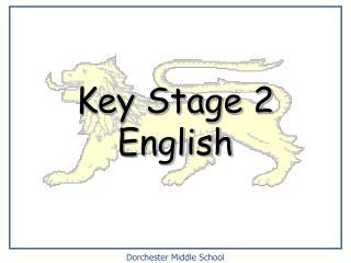 Key Stage 2 English