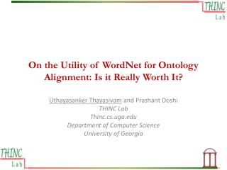 On the Utility of WordNet for Ontology Alignment: Is it Really Worth It?