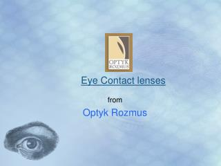 Eye Contact lenses