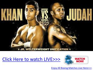 judah vs khan live boxing hd!! wba & ibf title