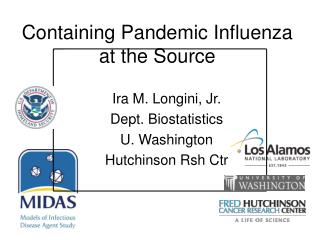 Containing Pandemic Influenza at the Source