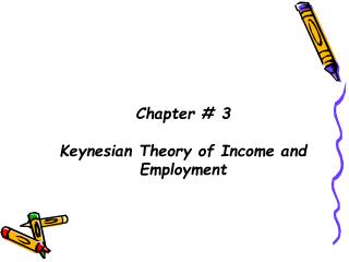 Chapter # 3 Keynesian Theory of Income and Employment