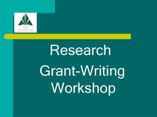 Research  Grant-Writing Workshop