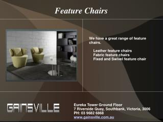 Modern Designer Furniture in Melbourne