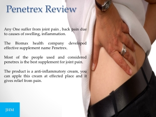 Penetrex reviews