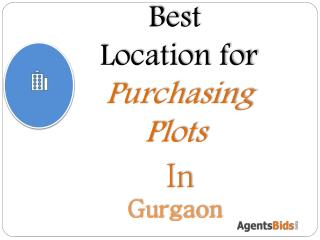 best location for puchasing plots in gurgaon