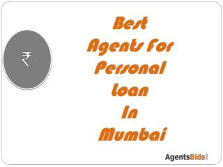 best agents for Personal loan in Mumbai