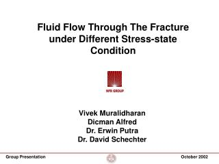 Fluid Flow Through The Fracture under Different Stress-state Condition