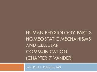 human physiology part 3