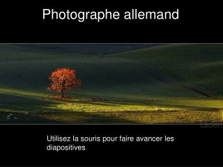 Photographe allemand