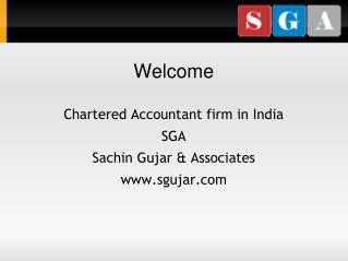 Sgujar - Chartered Accountant Firm in Pune