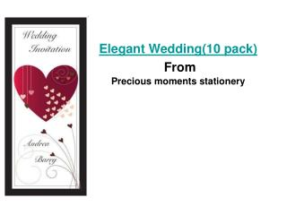 elegant wedding(10 pack)