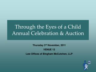Through the Eyes of a Child Annual Celebration & Auction