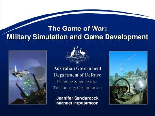 The Game of War: Military Simulation and Game Development