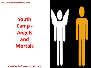 Youth Camp - Angels and Mortals