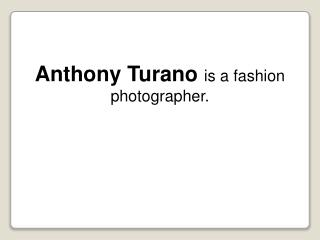 Anthony Turano