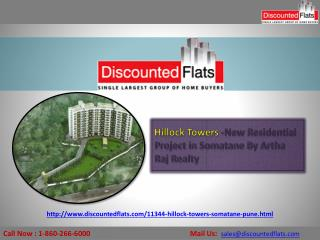 2BHK Aparatments For sale- Hillock Towers
