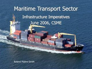 Maritime Transport Sector