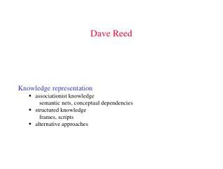 Dave Reed