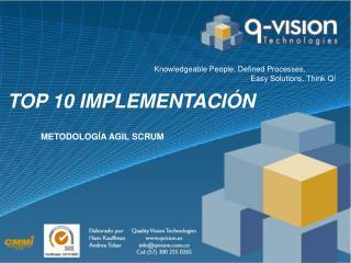 Top 10 Implementación
