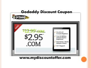 Godaddy Domain Coupon