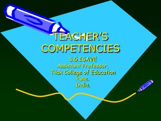 Teacher's Competencies