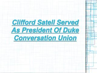 clifford satell - haverford, pa