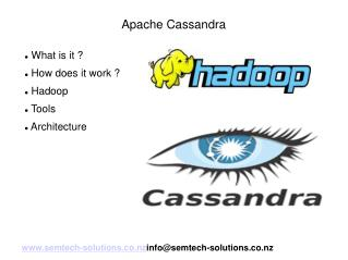 An introduction to Apache Cassandra