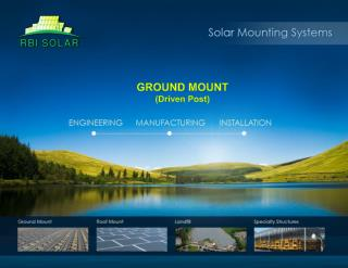 RBI Ground Mount Solar Systems
