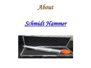 Schmidt Hammer