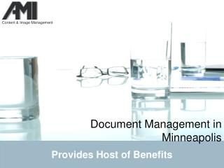 document management in minneapolis provides host of benefits
