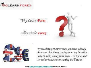 Learn Forex with Go Learn Forex