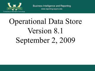 Business Intelligence and Reporting www.reporting.wayne.edu