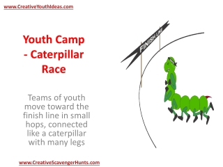Youth Camp - Caterpillar Race