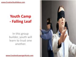 Youth Camp - Falling Leaf
