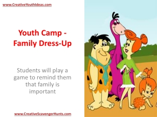 Youth Camp - Family Dress-Up