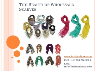 The Beauty of Wholesale Scarves