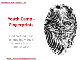 Youth Camp - Fingerprints