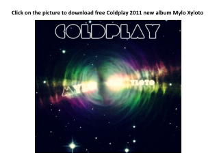 download free coldplay 2011 new album mylo xyloto