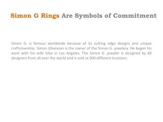 Simon G Rings