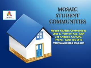 USC group housing, USC housing, USC student housing