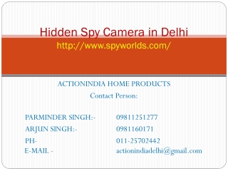 Spy Hidden Camera