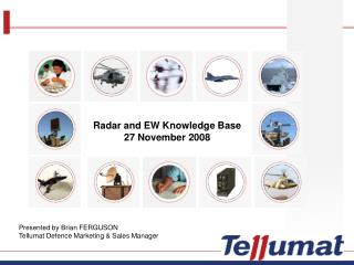 Radar and EW Knowledge Base 27 November 2008