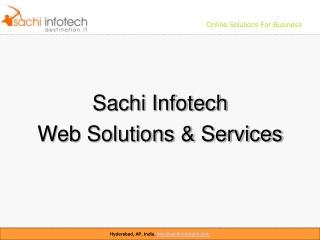 Sachi Infotech - Web Development Solutions and Services