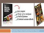 cookbook for kids paleo cookbook