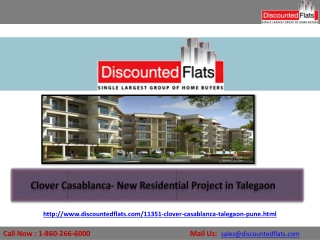 Clover Casablanca – New Residential Project in Talegaon