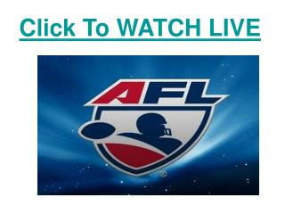 watch north melbourne vs carlton afl football live streaming