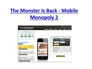 Mobile Monopoly 2.0 Download reviews