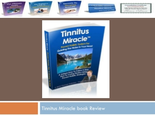 Tinnitus Miracle book Review